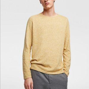 Zara men fine twisted knit sweater